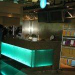 (FU-R006) Illuminated glass counter