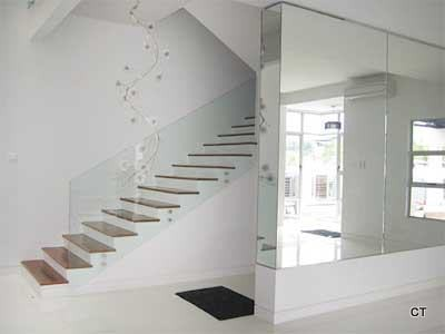 Staircase Glass Design