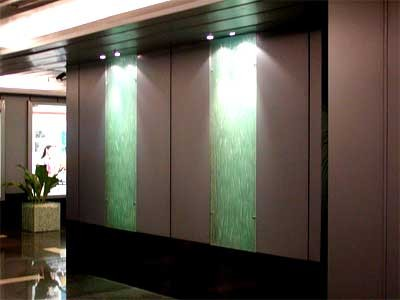 3D Glass Panel Paintings