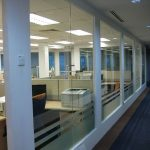 (PA-C015) Glass wall partition