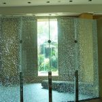 (PA-C019) Shattered glass design partition