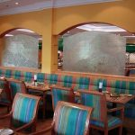 (PA-C020) Restaurant wall partition