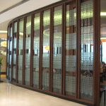 (SF-COO1) Kiln formed glass shopfront