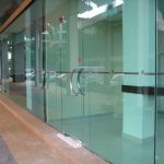 (SF-C014) Banking Hall entrance glass
