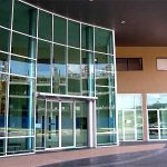 (SF-C018) College Building Glass Entrance