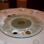 (TT-C 005) Glass lazy susan