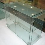(TT-C 007) Glass display table