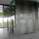 (WL-C 003)Condominium Lobby level wall cladding