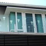 (AL-R001) Aluminium window& door to balcony