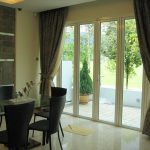 (AL-R008) Aluminium framed folding door