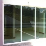 (AL-R025) Aluminium sliding door