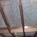(SB-D013) Canopy with sandblasted design