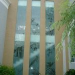 (SB-D021) Full 2 storey height glass panels