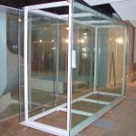 (DS-C 016) Big panel glass display