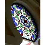 (ST-D011) Art glass in building design