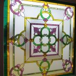 (ST-D012) Art glass panel