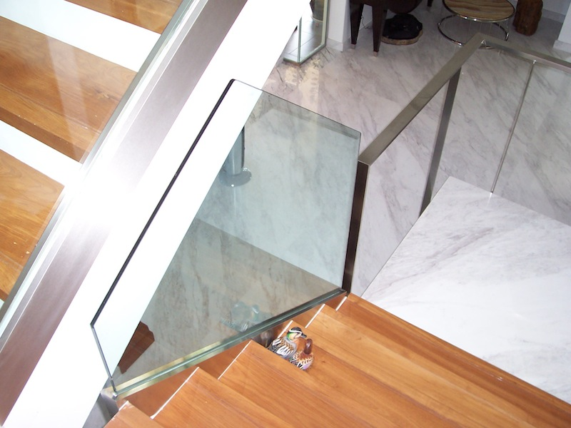 Staircase glass glass network malaysia Odd shaped mirrors